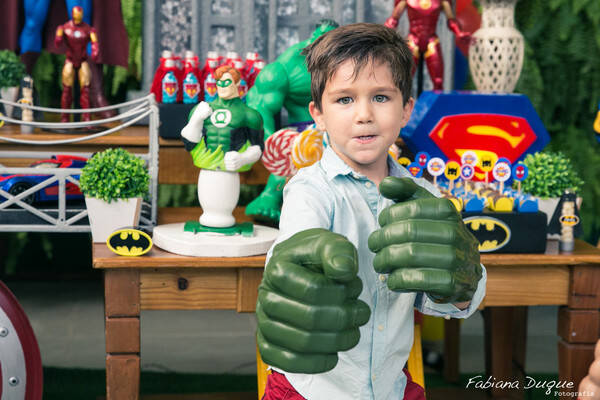 Festa Infantil de Thomas - 5 anos