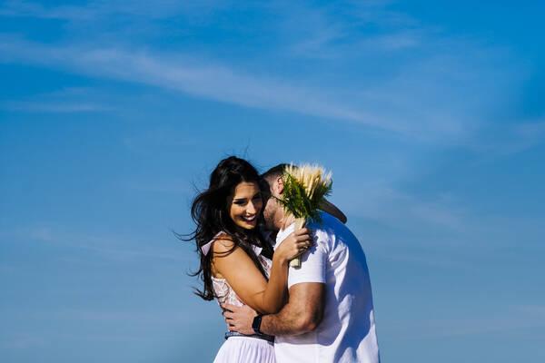 Pré Wedding de Karen + Carlos Henrique | Grumari - RJ