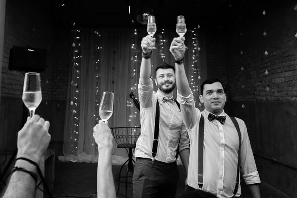 Casamentos de Eric e Renato