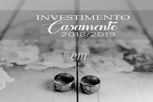 Orçamento de Investimento Fotografia de Casamento 2018-2019