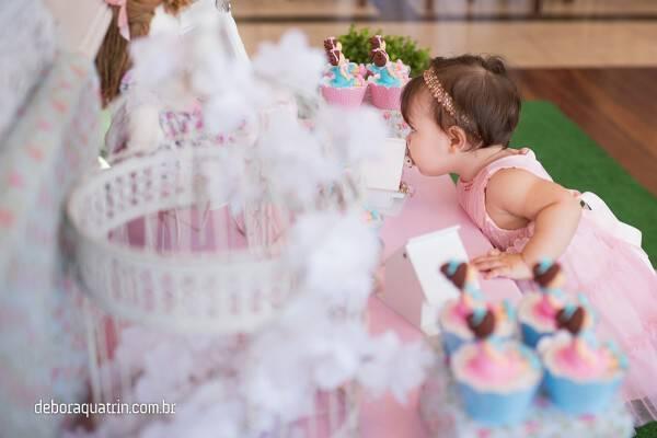 Aniversários de Angelina 1 Ano