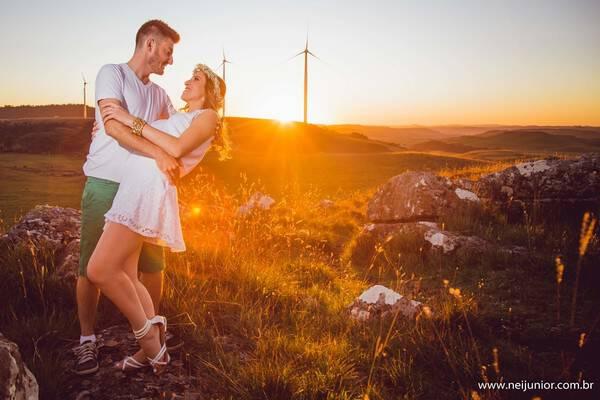 Sessão fotográfica de casal de Dani e Ricardo