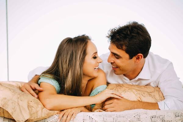 Sessão fotográfica de casal de Rodolfo e Sabrina