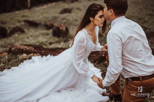 Sessão fotográfica de casal de Gabriel e Débora