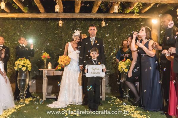 Casamentos de Edinéia e Anderson