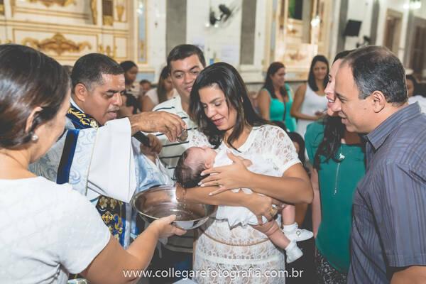 Família e Gestantes de Batizado Laura