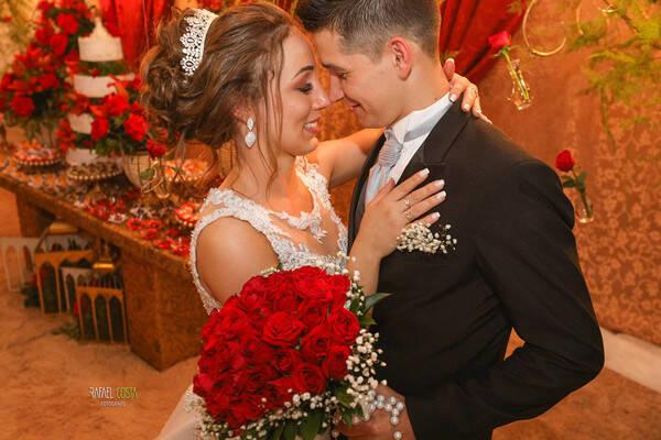 Casamentos de Débora e Fernando