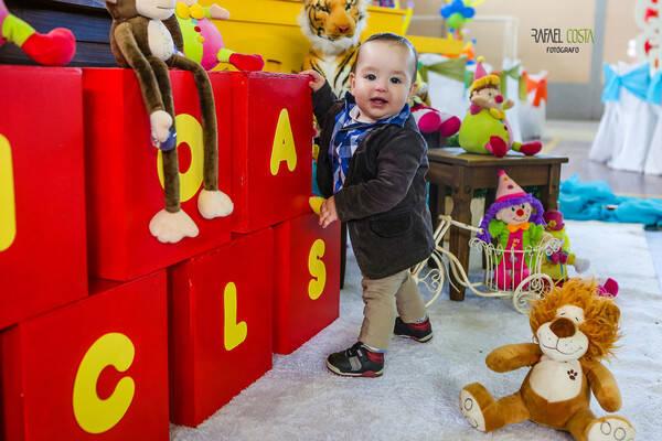 Aniversário Infantil de Nícolas - 1 aninho