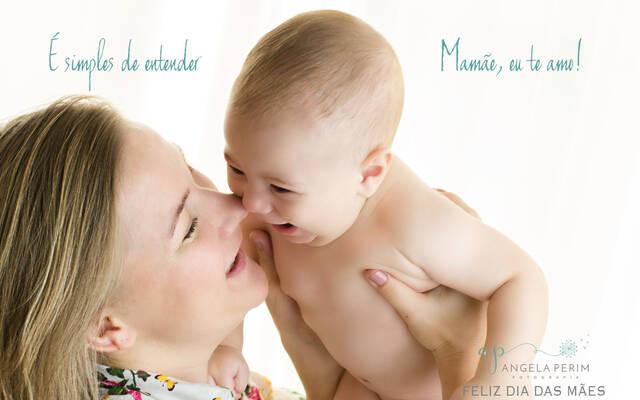 Mamãe, eu te amo! por Angela Teresa Perim Carreiro