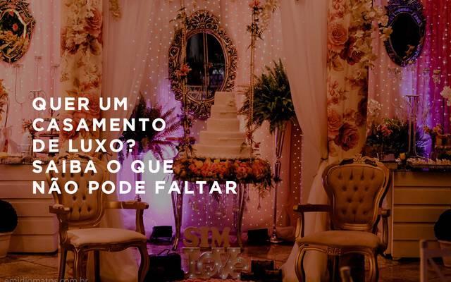 Saiba o que não pode faltar em um casamento de luxo por Emidio Michele Matos Mercante