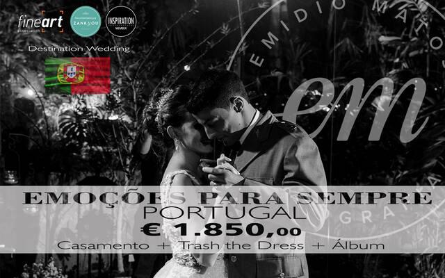 PORTUGAL - Emoções para sempre - Fotografia de Casamento - Destination Wedding por Emidio Michele Matos Mercante