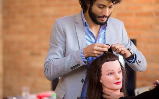 Workshop de Penteados de noiva por Diego Queiroz