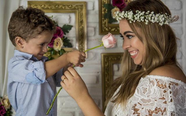 Mini Ensaio de Dia das Mães por Rafaelly Lemos