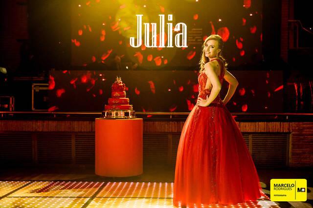 Festa 15 anos de 15 anos Júlia Monego