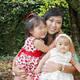 Luciana, Rogerio e Lívia
