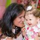 Viviane, mãe da Maitê e da Sofia