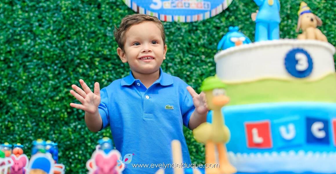 Festas Infantis de Pocoyo do Lucas