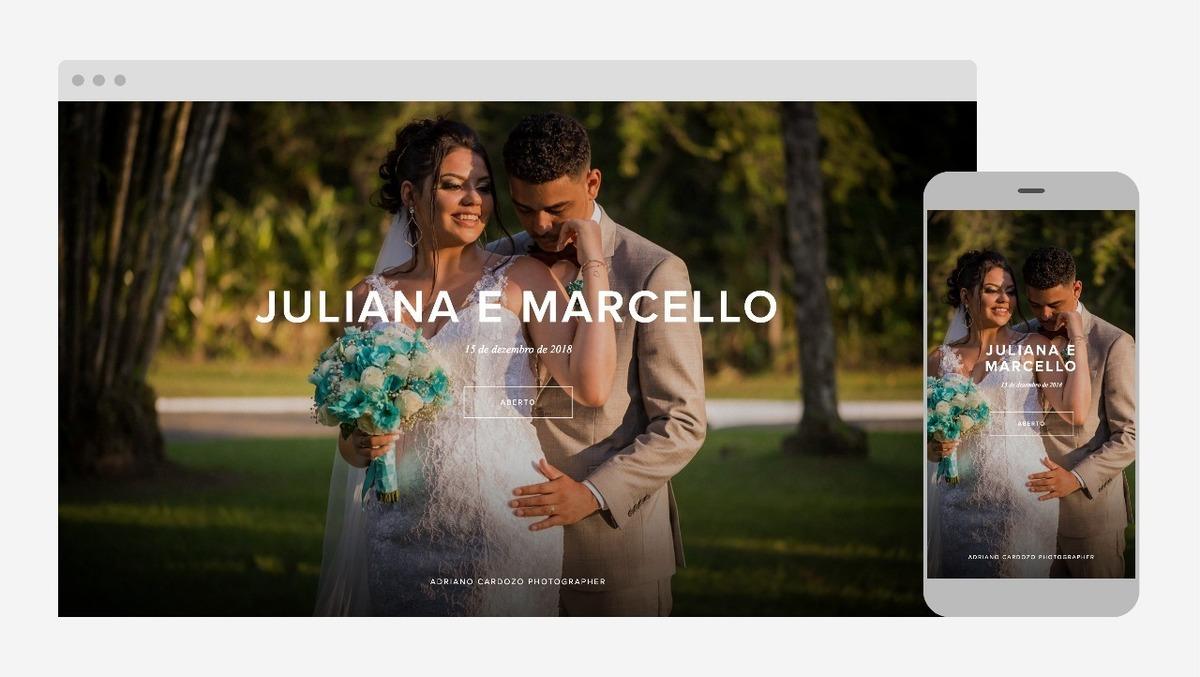 seleção de imagens de casamento