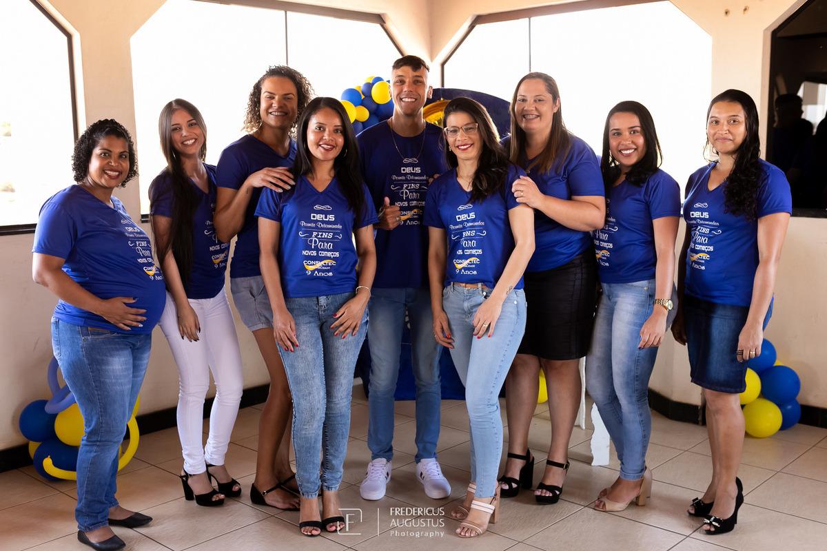 Darlene Silva e Luciene Paranhos sócias da Contabilidade Consultec Minas com seus convidados