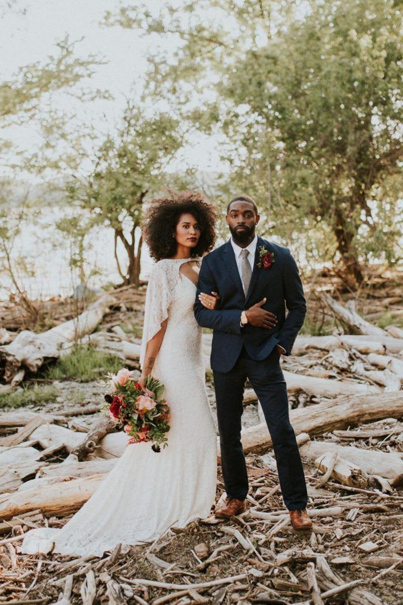 Casal de noivos lindos!