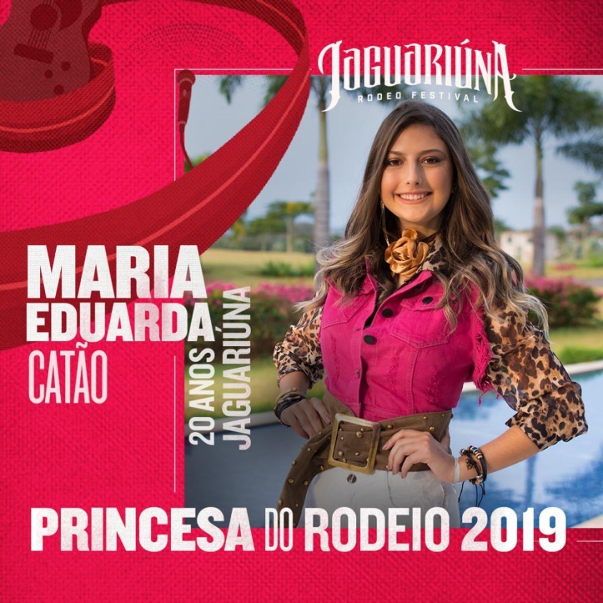 Rainha do Rodeio de Jaguariúna: Daniela Camargo