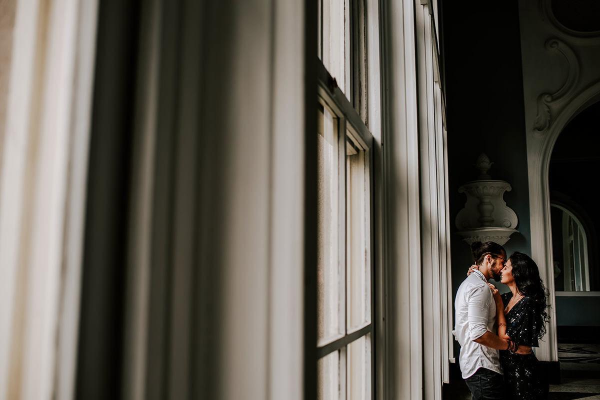Ensaio pré casamento no palacio quitandinha