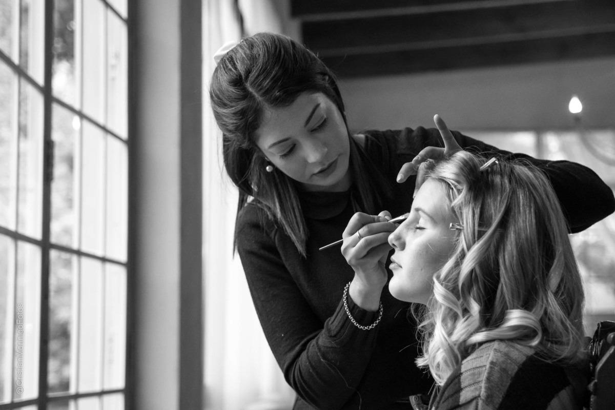 Make up realizado por Aneley Pilon a una quinceañera, tomada por el fotógrafo de Roldan Cristian Moriñigo