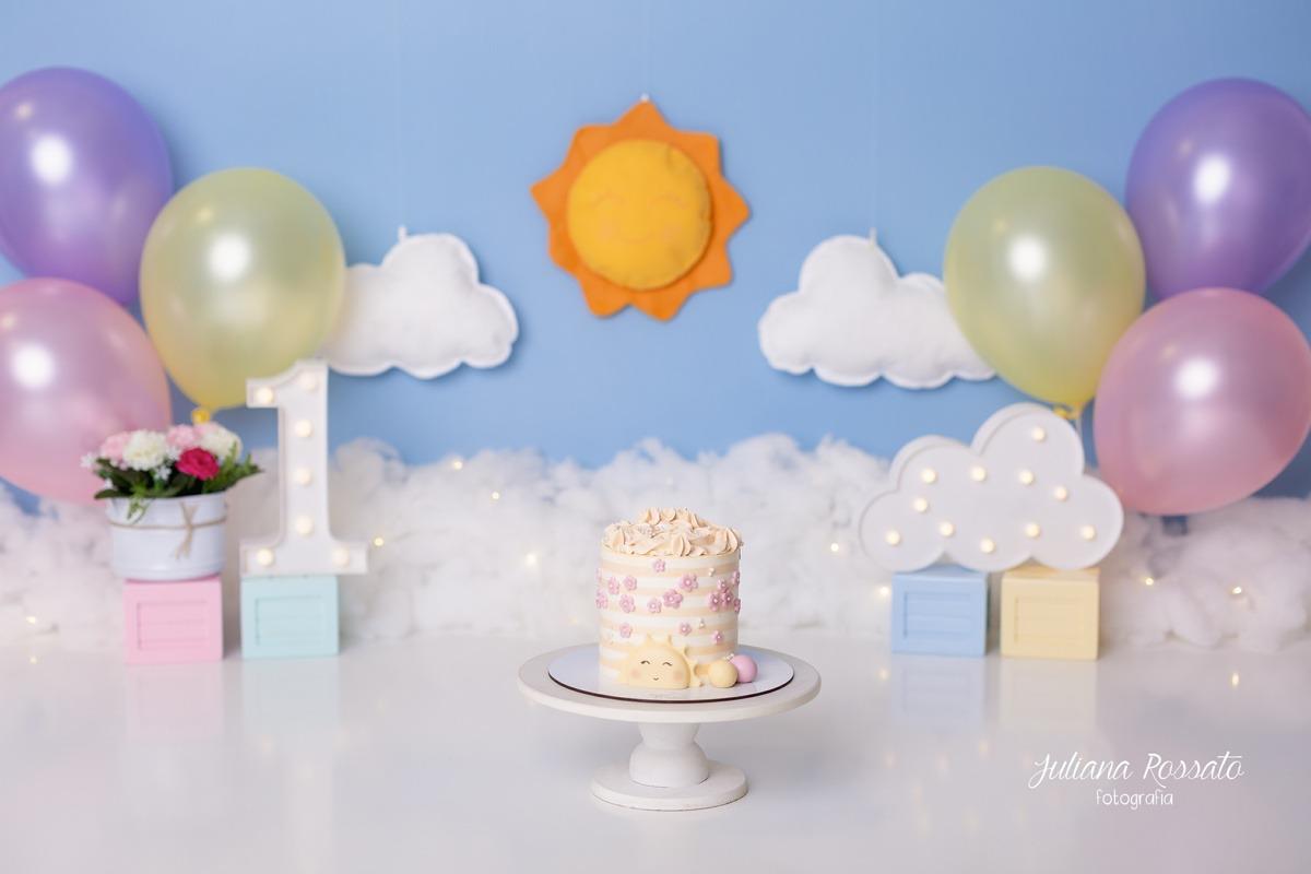 Smash The Cake sunshine sol ensaio sp
