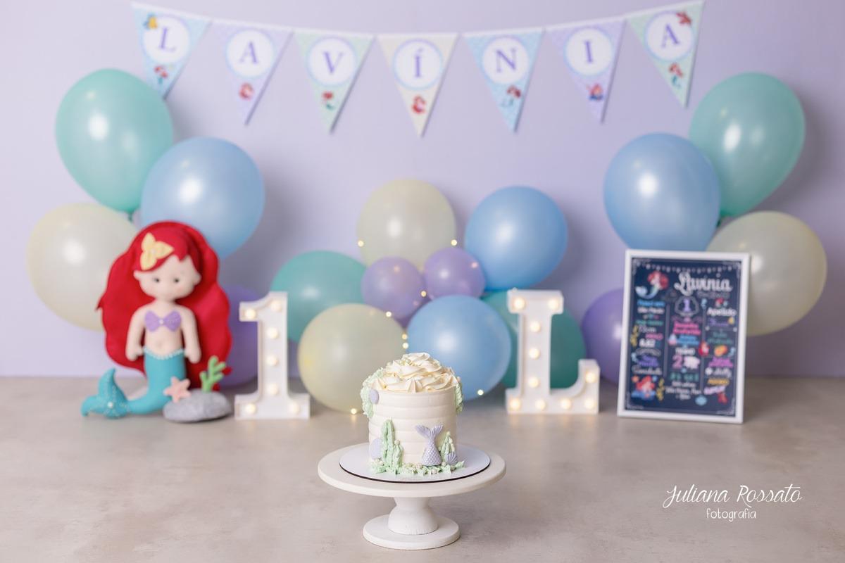 Smash The Cake Sereia ensaio sp