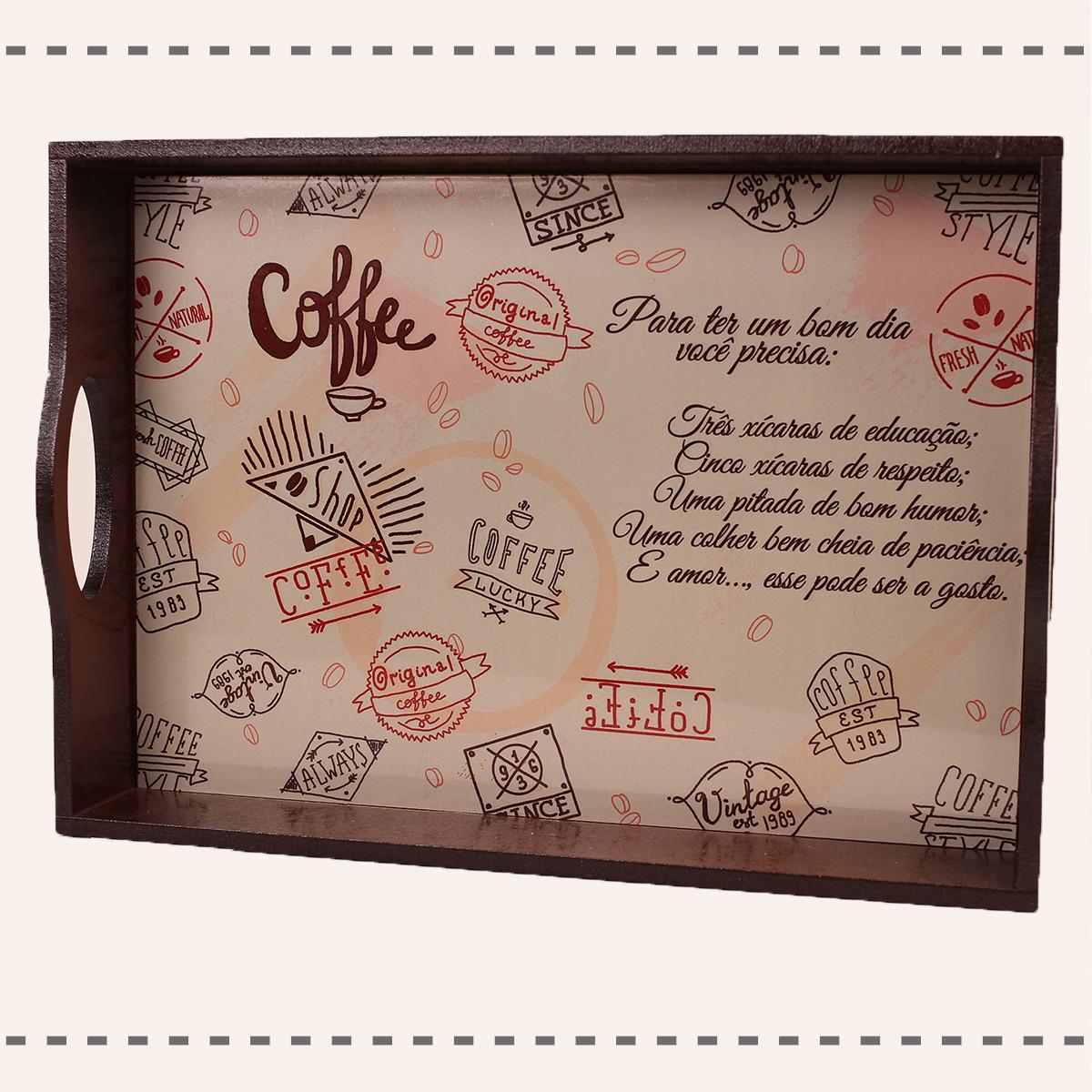 Bandeja Café da Manhã / Decór Personalizável
