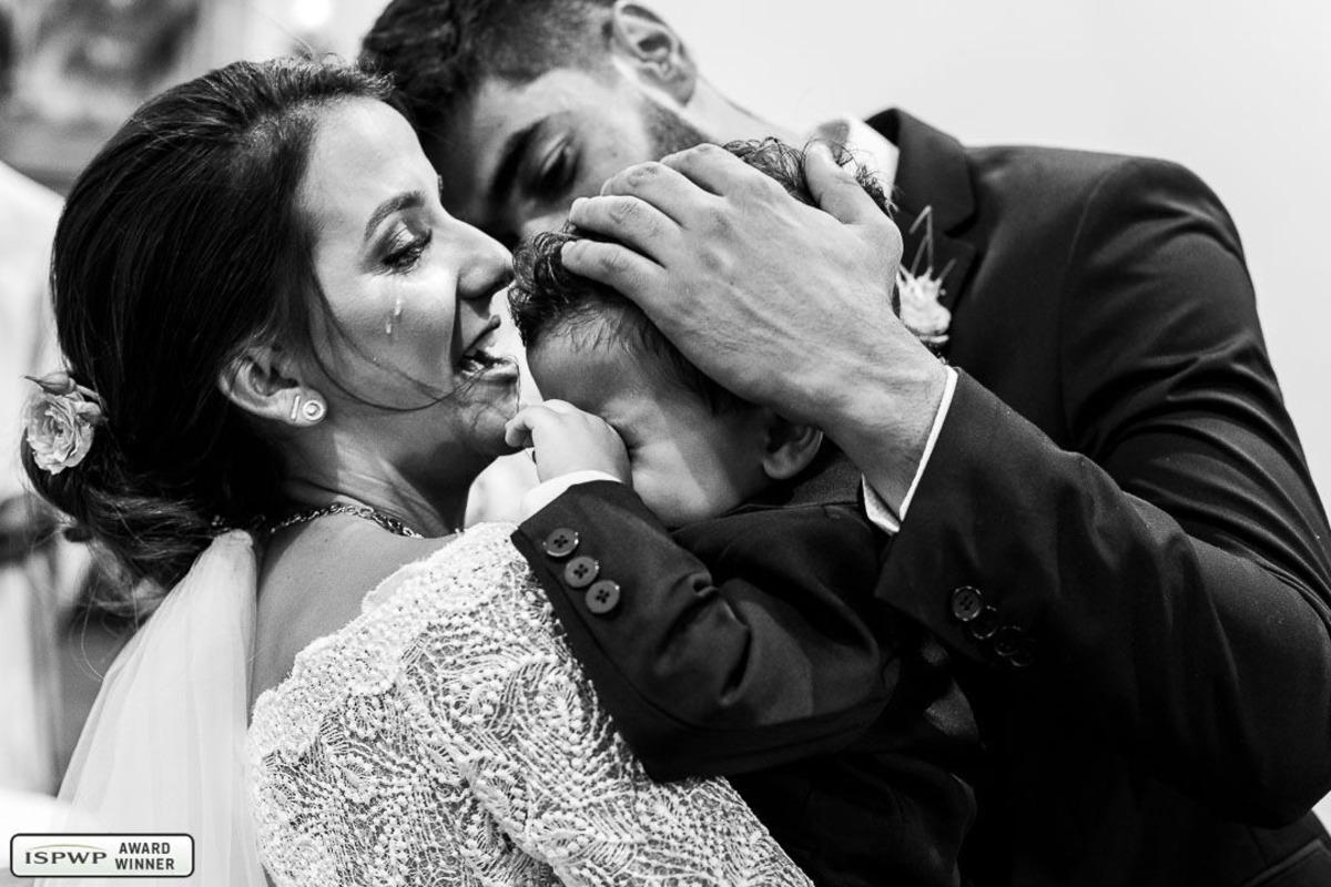 Fotografia premiada de casamento pela ISPWP