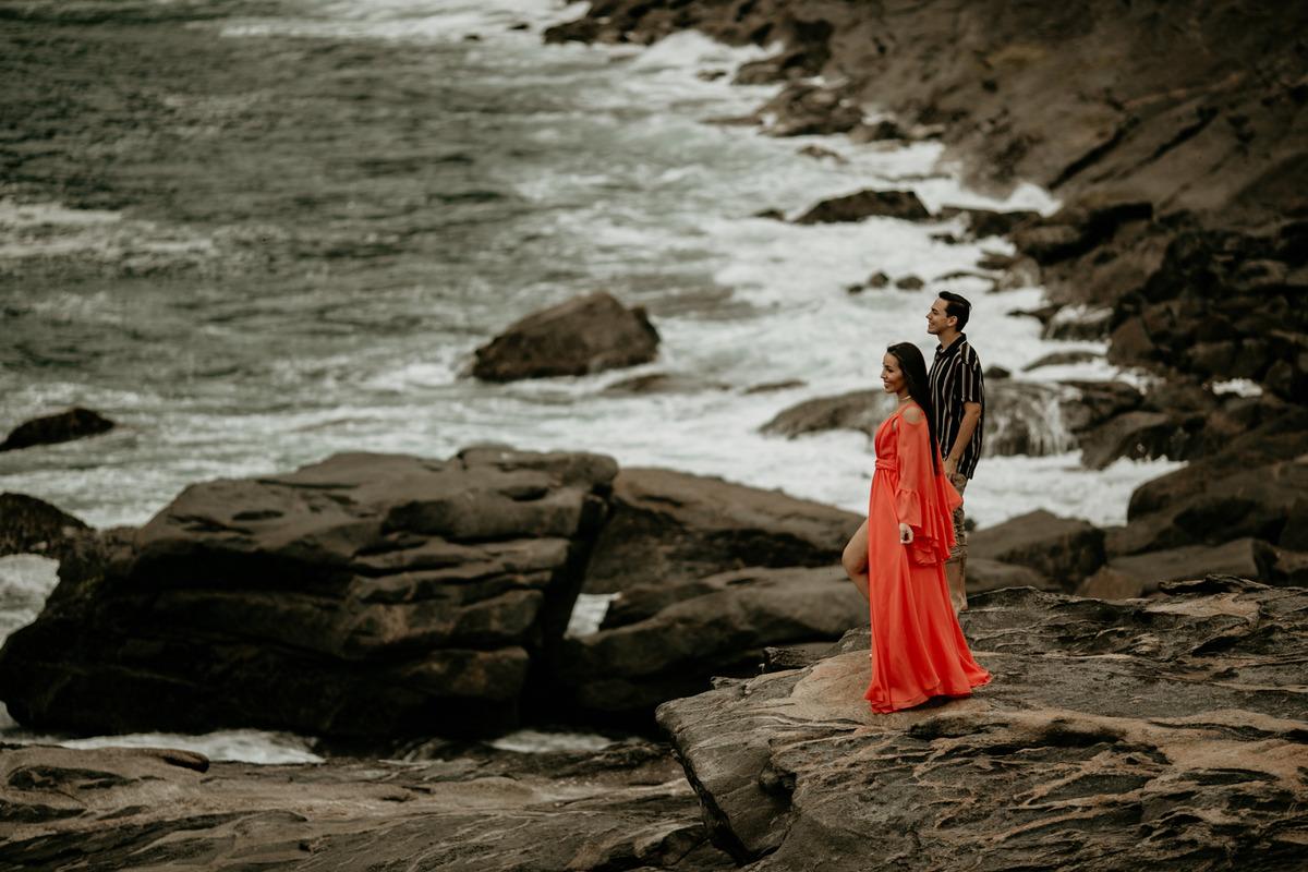 Ensaio de casal em grumari