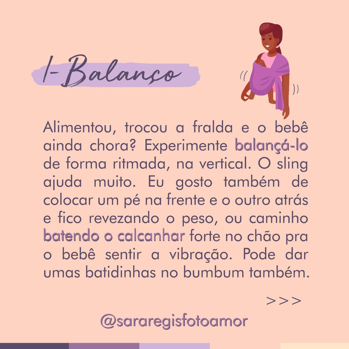Dica 1: Balanço
