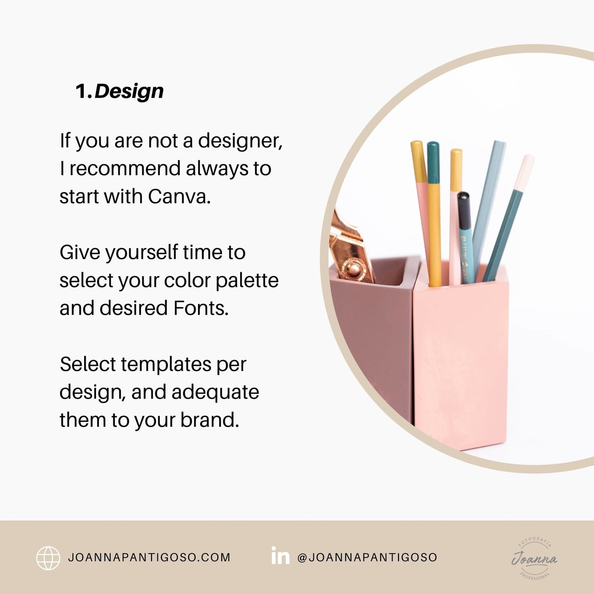 Instagram stories tips voor ondernemen. Design with Canva but personalize it to your brand and message