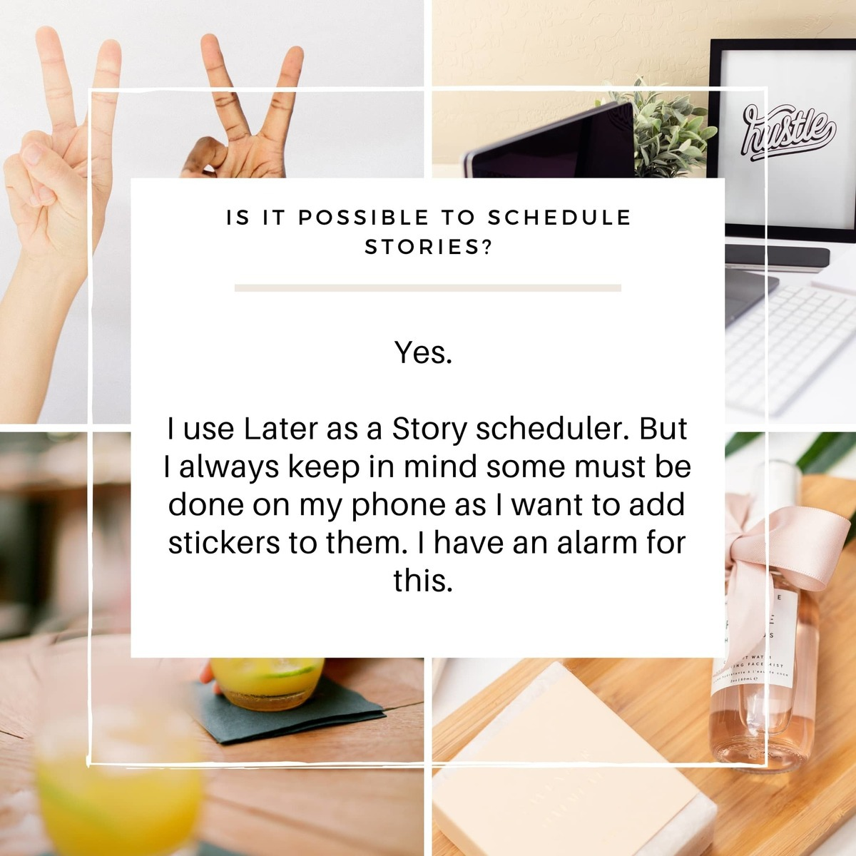 You can schedule your stories through a third party app like Later