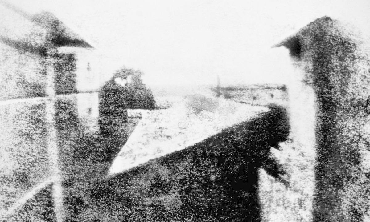 A primeira foto registrada no mundo!