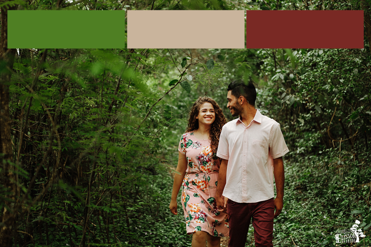 composição de cores na fotografia