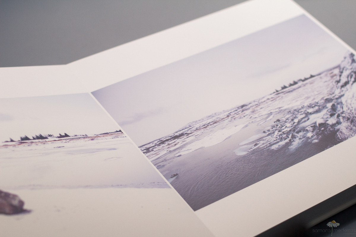 Album fotográfico com fotografias de viagem para a Islândia.