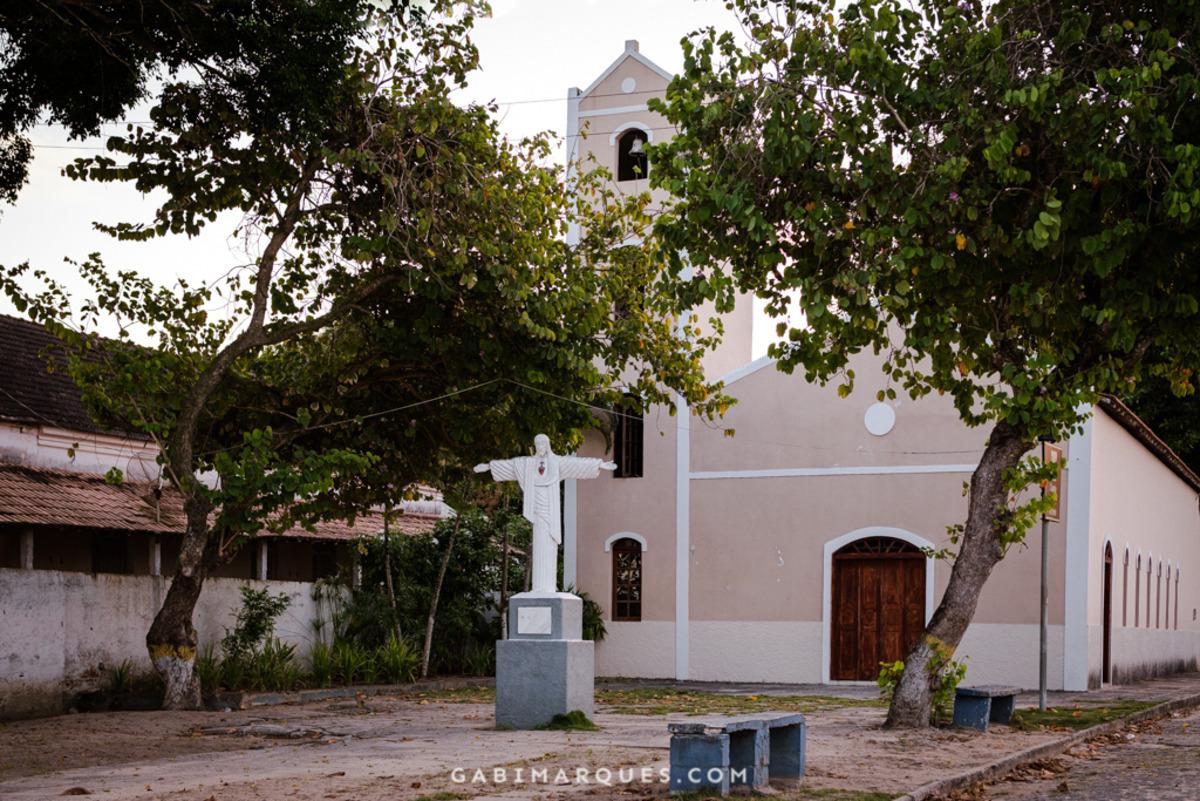 Igreja de santo Antonio Cumuruxatiba Bahia