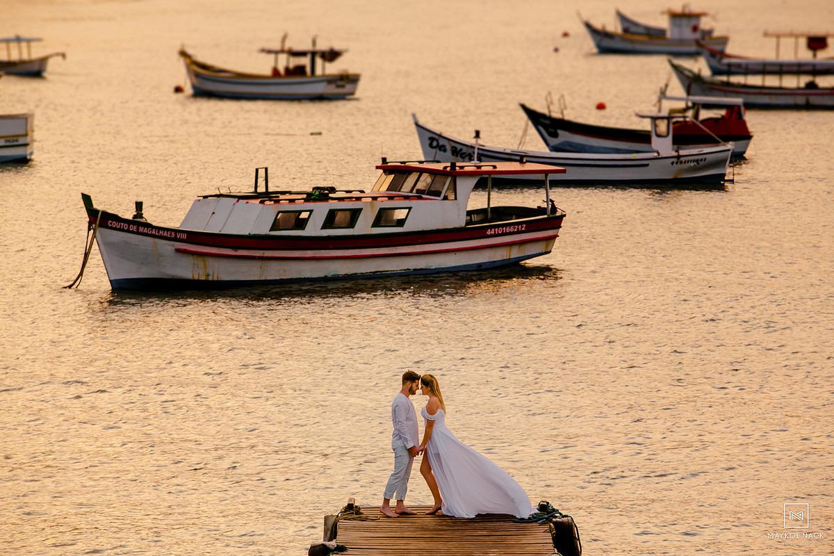 Fotos de casal em Florianópolis