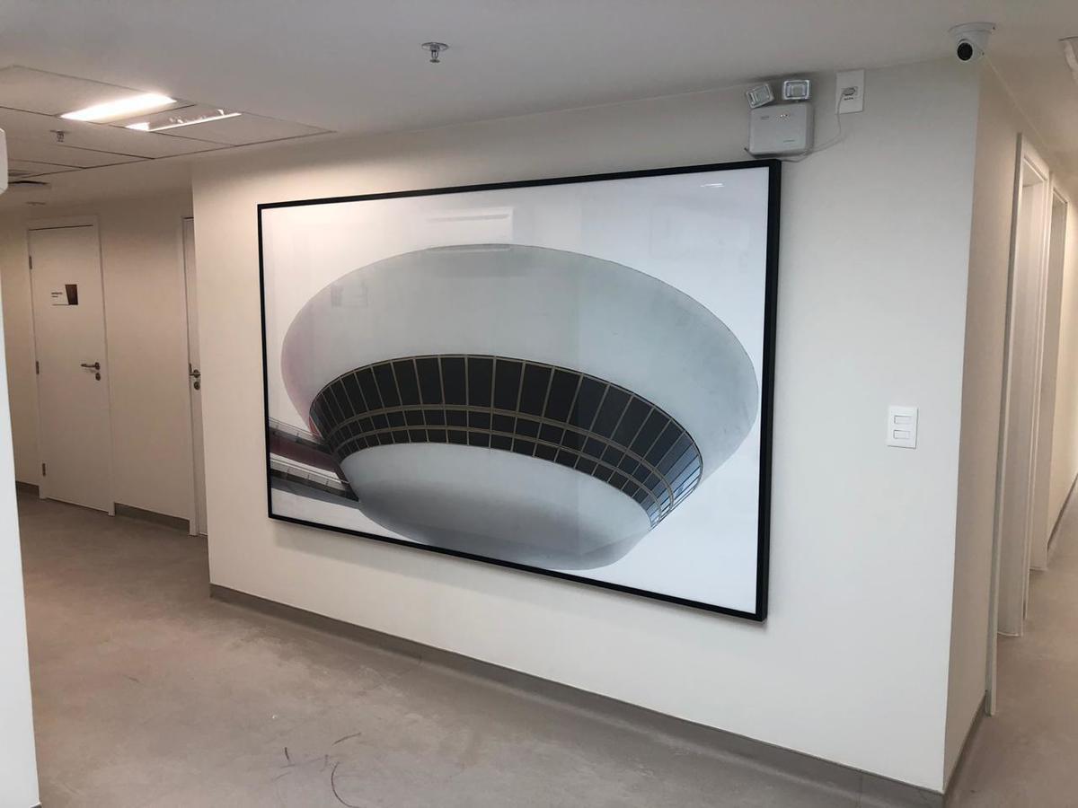 quadro preto e branco, museu de arte contemporânea, Niterói - RJ