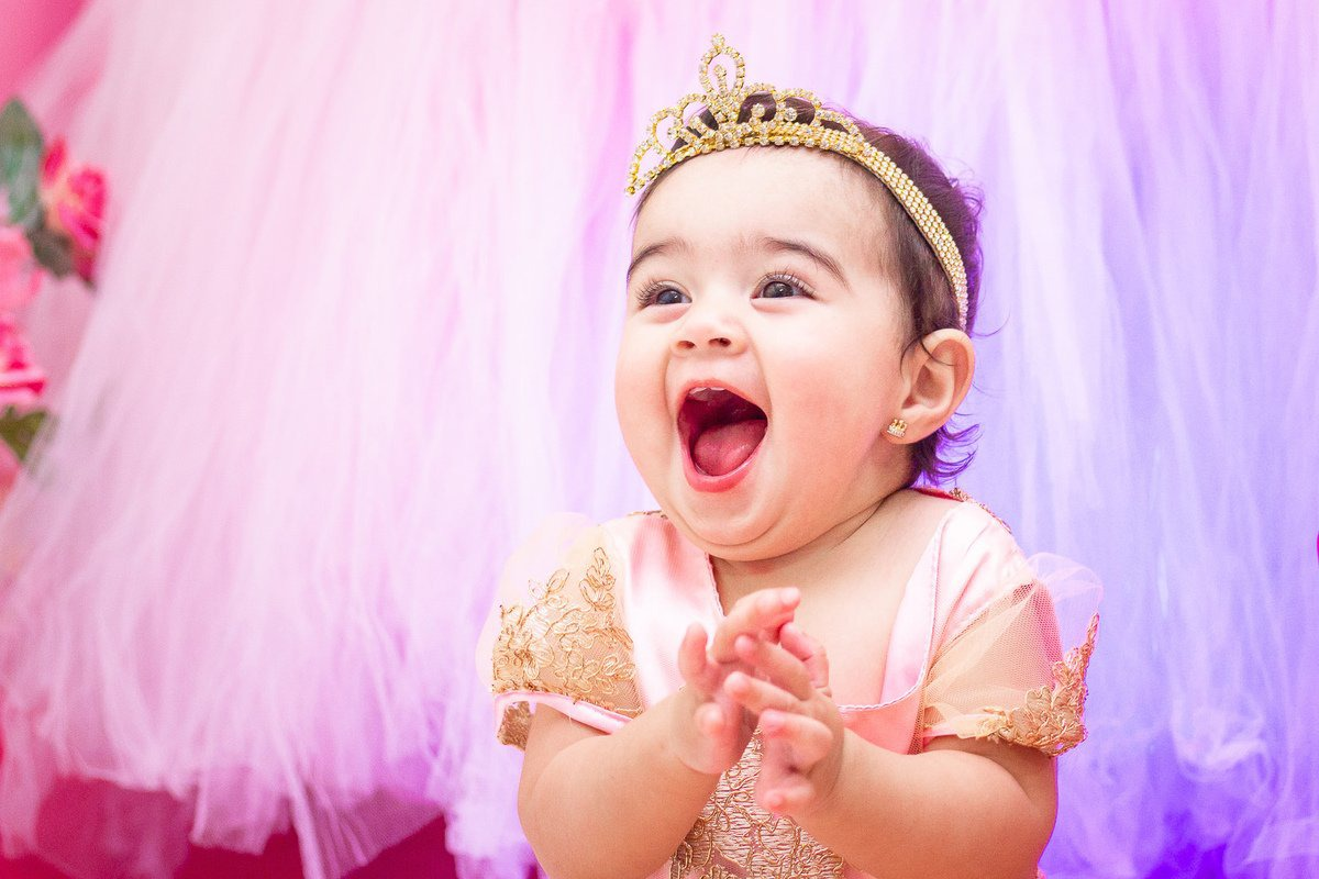 lilly 1 ano festa realeza menina bauru aniversario infantil