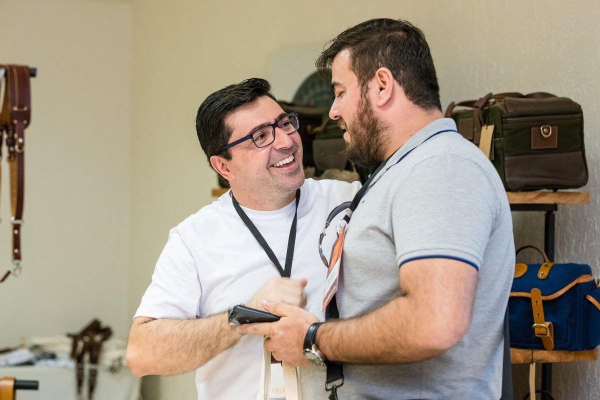 Eu e o mestre André Mansano