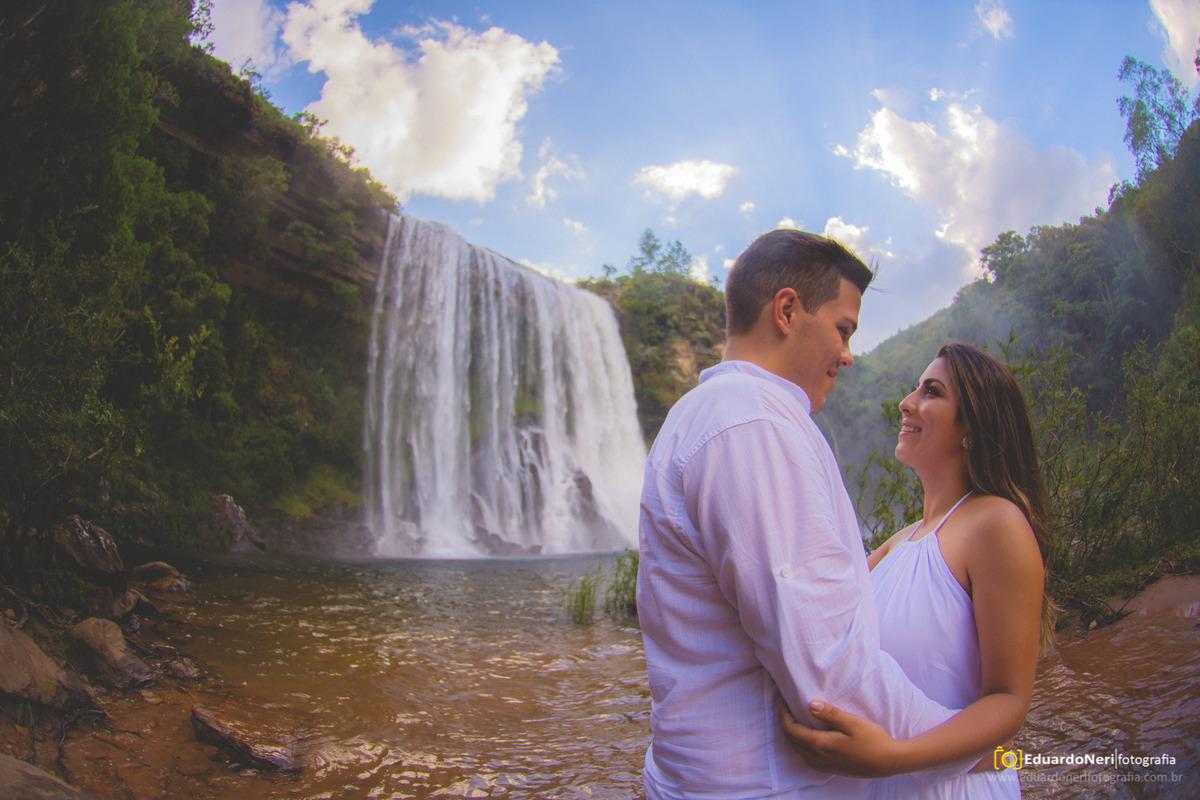 Ensaio realizado em Sengés-PR na cachoeira do Sobradinho
