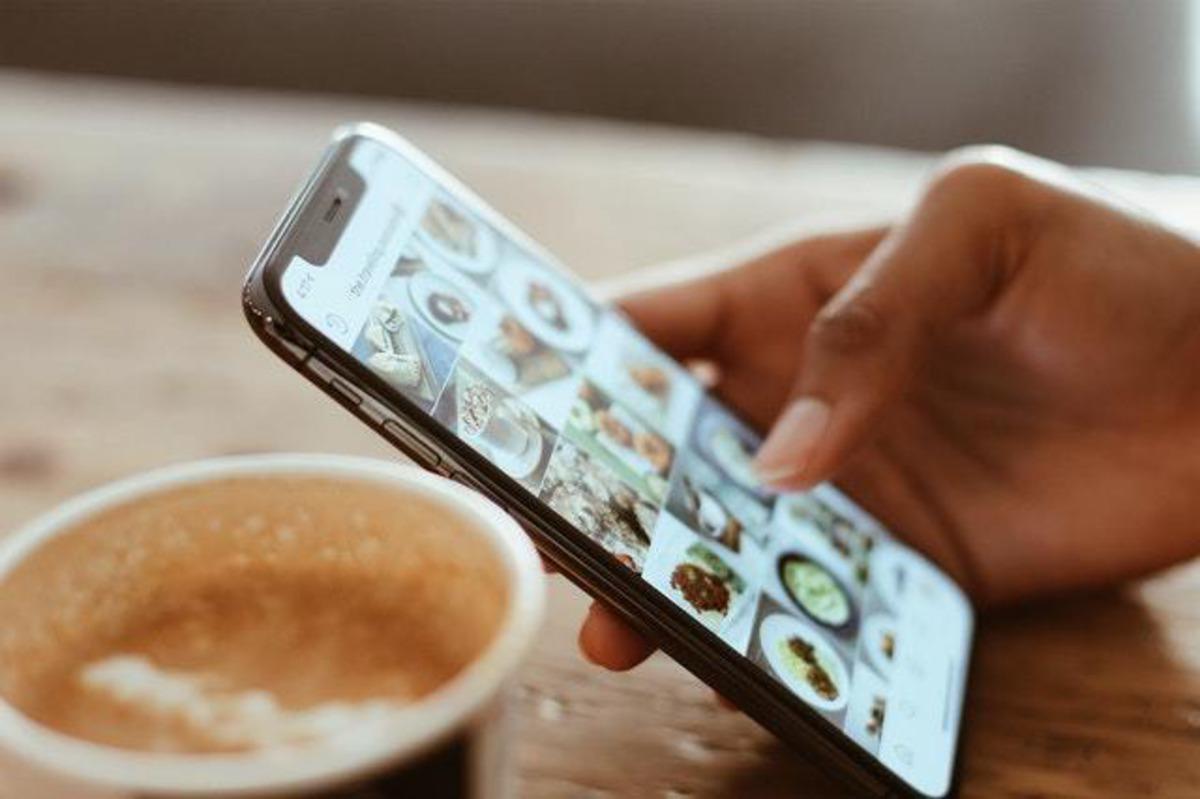 manicure nas redes sociais