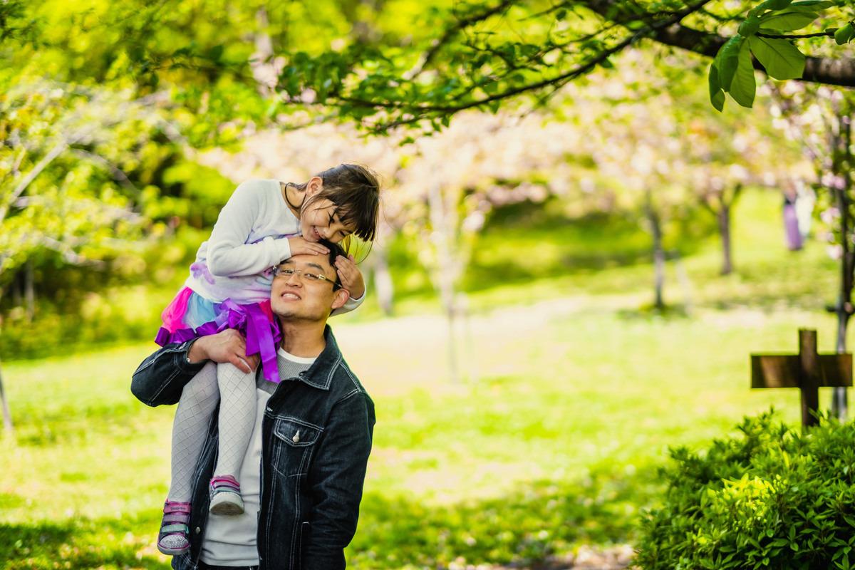 ensaio pai e filha no japao, ensaio familiar no japao, ensaio casal no japao, fotografo no japao