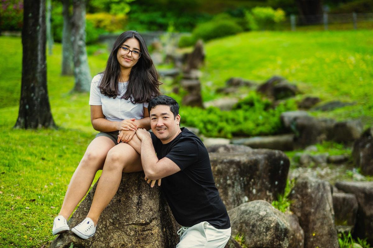 ensaio pai e filha no japao, ensaio dia dos pais no japao, ensaio fotografico no japao, ensaio familiar no japao, ensaio em aichi