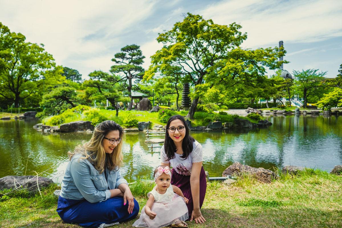nails Fabiana no Japao, ensaio fotografico no Japao,ensaio familiar no Japao, ensaio mae e filha no Japao, ensaio em aichi