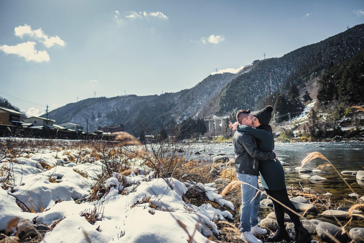 prewedding no japao, ensaio de casal no japao, fotografo em Gifu, ensaio na neve no japao, neve no japao, ensaio diferente no japao, casamento no japao,emagrecimento no japao, ensaio romantico no japao
