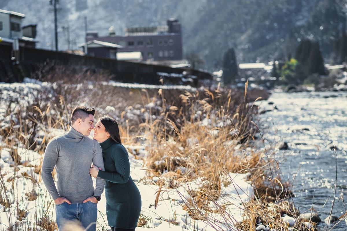 prewedding no japao, ensaio de casal no japao, fotografo em Gifu, ensaio na neve no japao, neve no japao, ensaio diferente no japao, casamento no japao,emagrecimento no japao